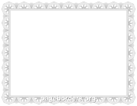 Free Certificate Border Clipart.