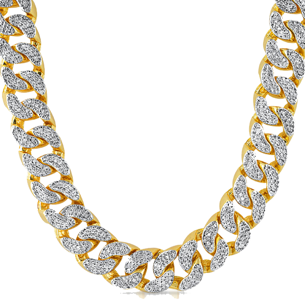 Thug Life Gold Chain PNG HD.