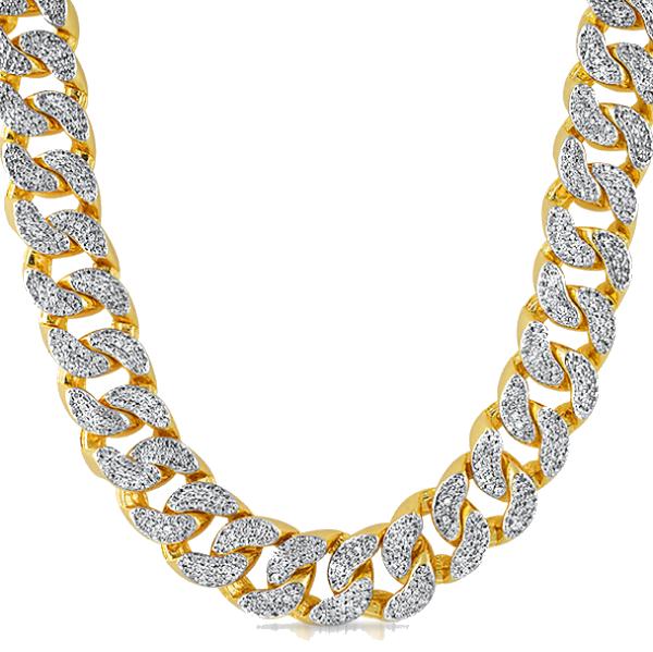 Thug Life Gold Chain PNG HD.
