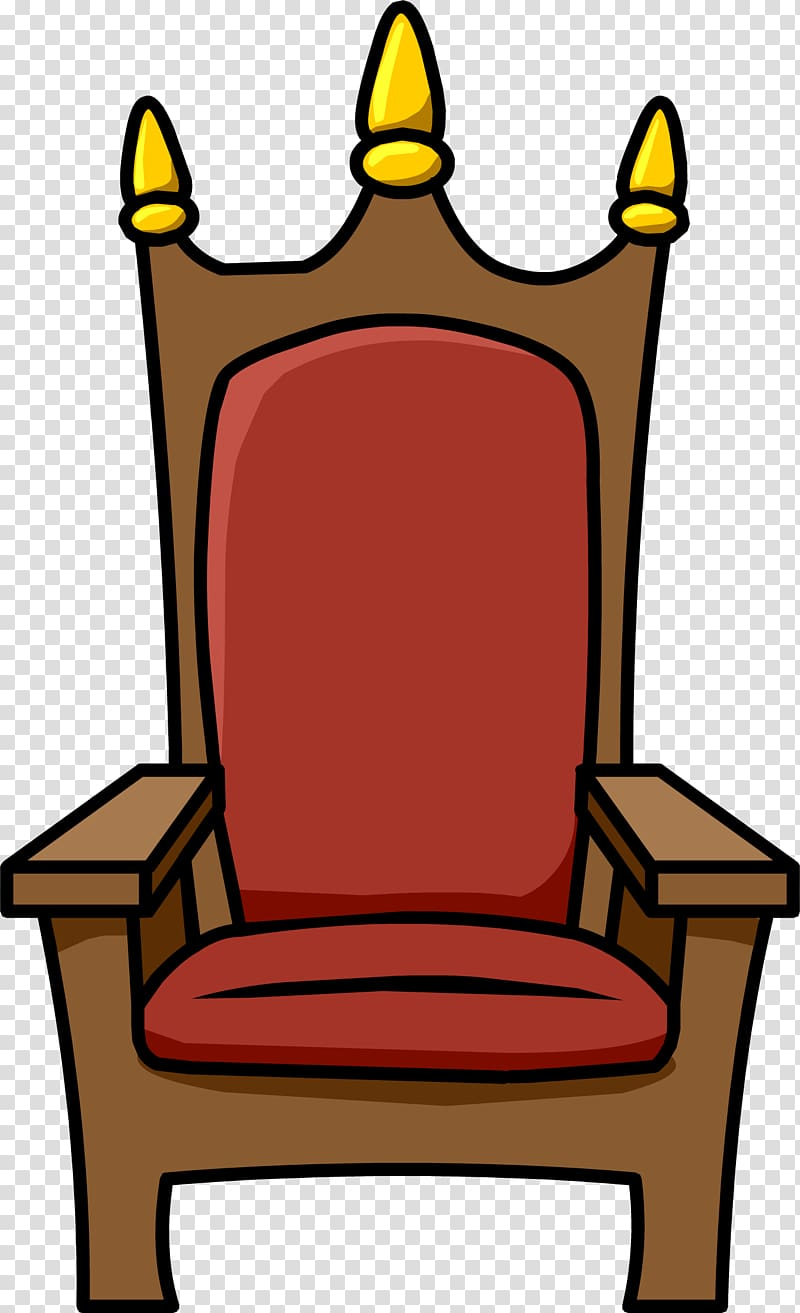 Club Penguin Throne Chair , Throne HD transparent background.