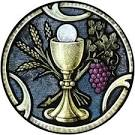 Chalice host clipart.