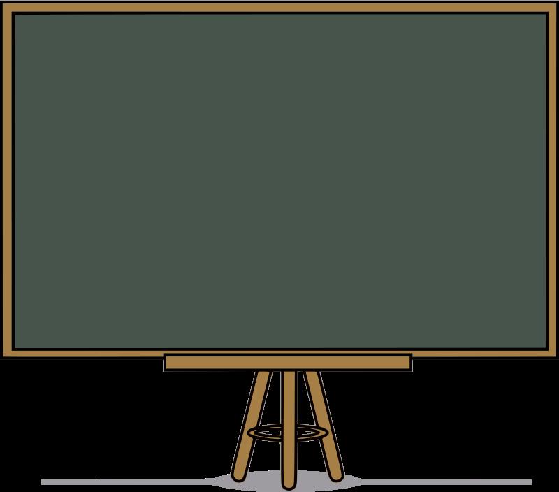 Free Clipart: Chalkboard.