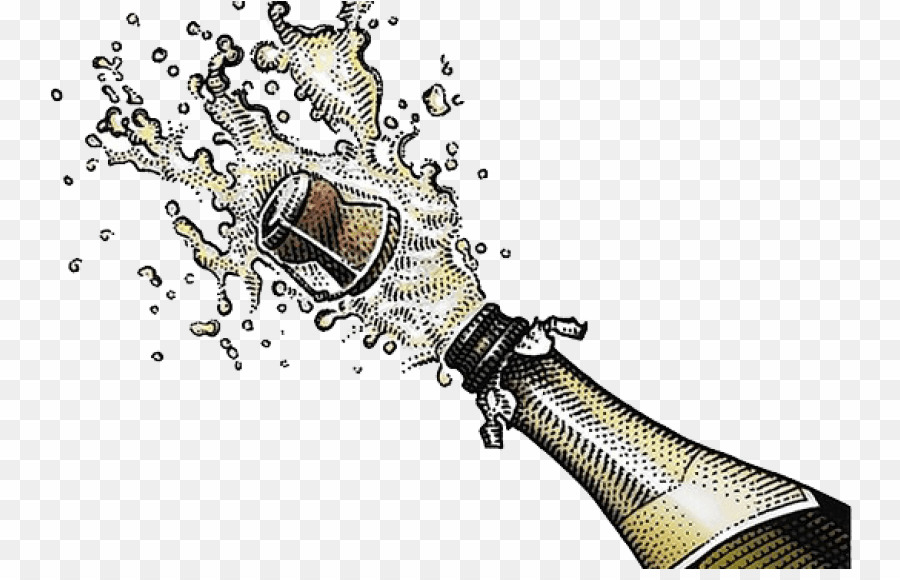 Champagne Bottle Popping PNG Champagne Sparkling Wine Clipart.