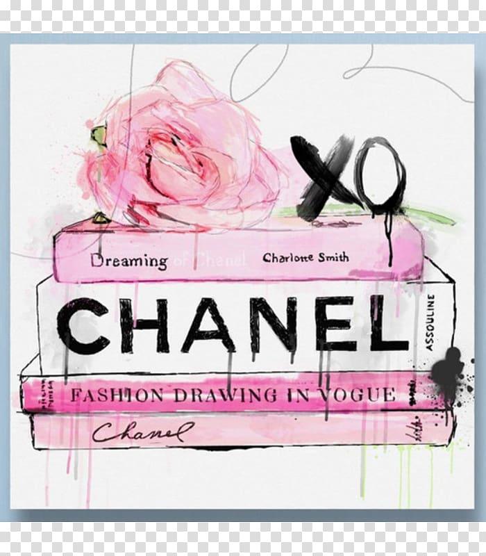 Chanel Canvas print Art Watercolor painting, chanel transparent.
