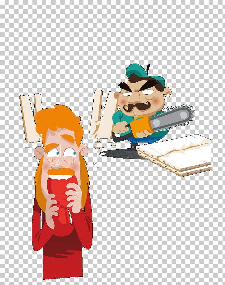 Cartoon Labor Painter Character, Creator Space PNG clipart.