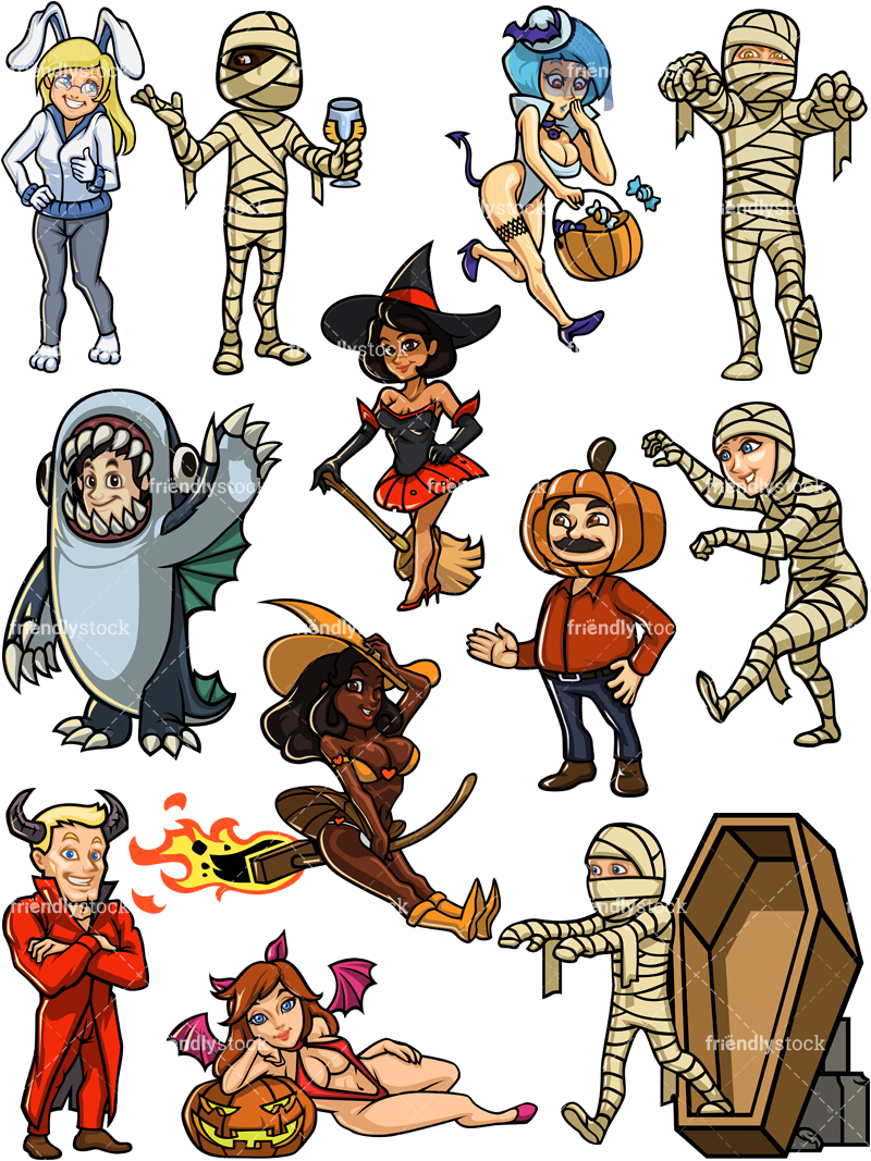 Halloween Characters Collection #2.