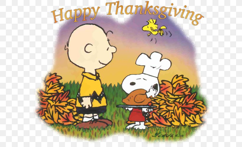 Charlie Brown Snoopy Thanksgiving Day Clip Art, PNG.
