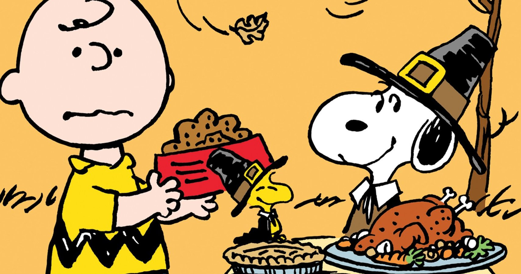 10 Memorable Moments From A Charlie Brown Thanksgiving Special.