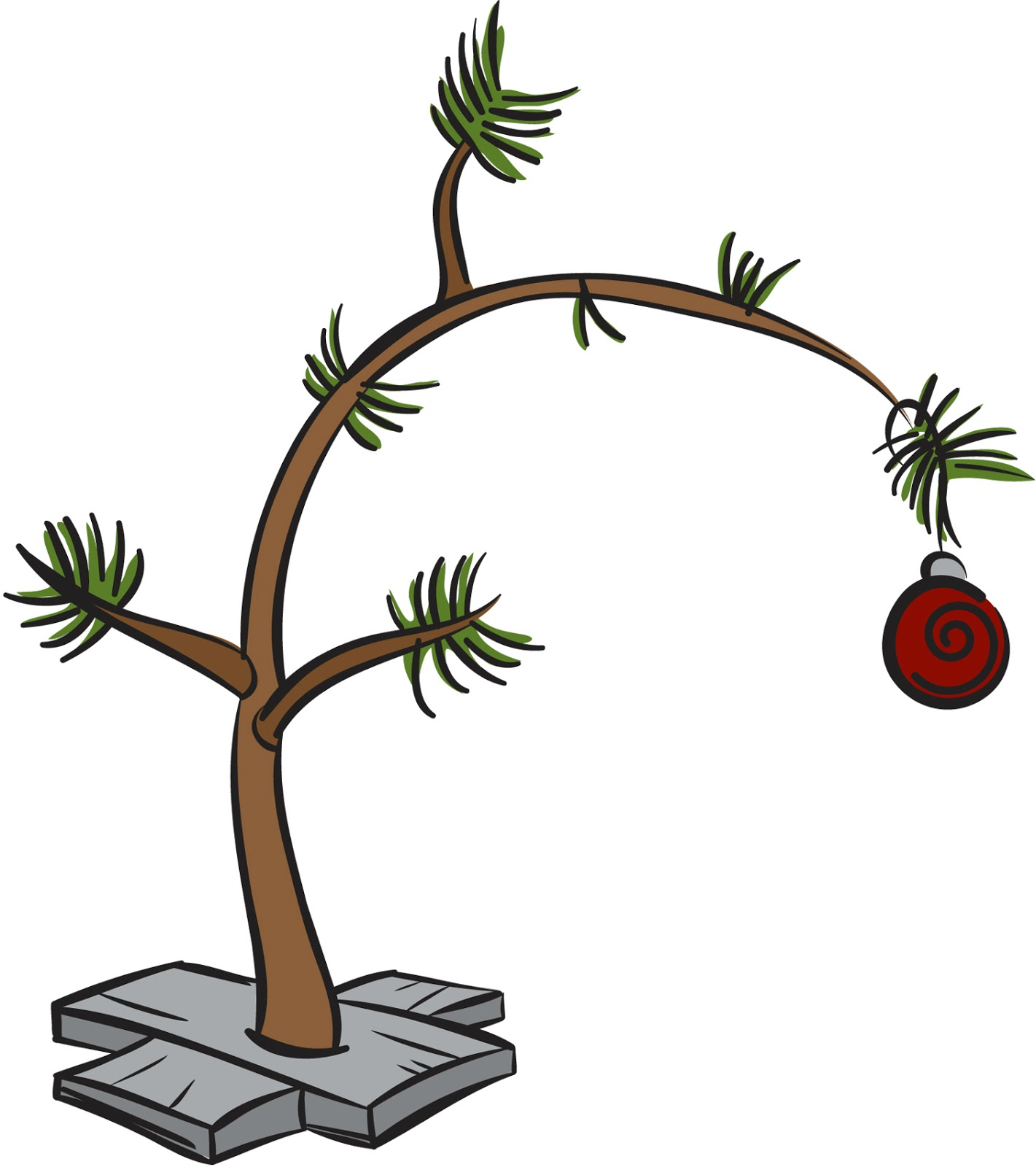 Charlie brown tree clipart 8 » Clipart Station.