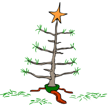 Free Charlie Brown Christmas Tree Png, Download Free Clip.