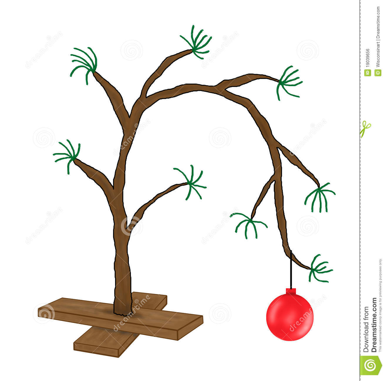 Charlie brown tree clipart 9 » Clipart Station.