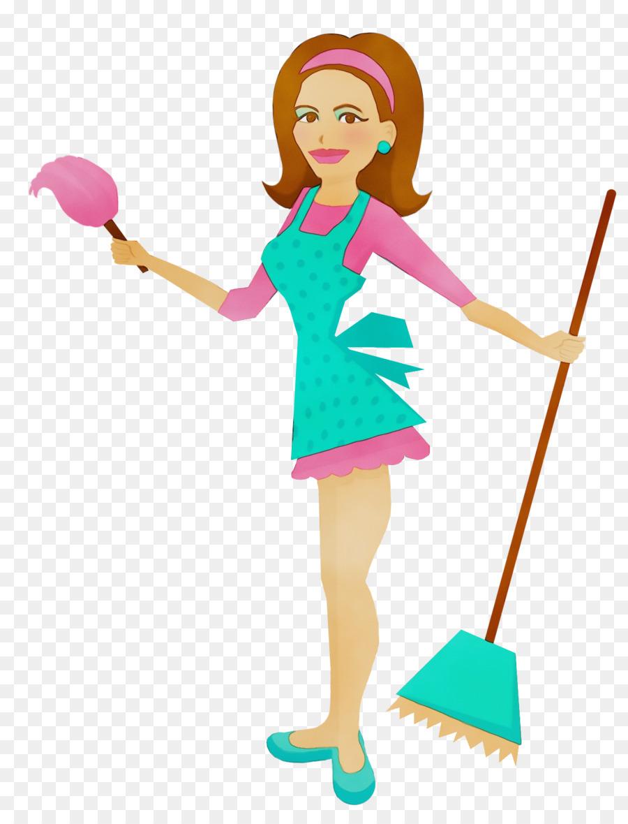 cartoon charwoman clip art toy fictional character png.