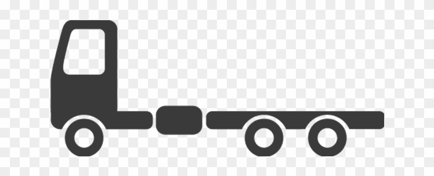 Truck Flatbed Chassis Clipart (#2135822).
