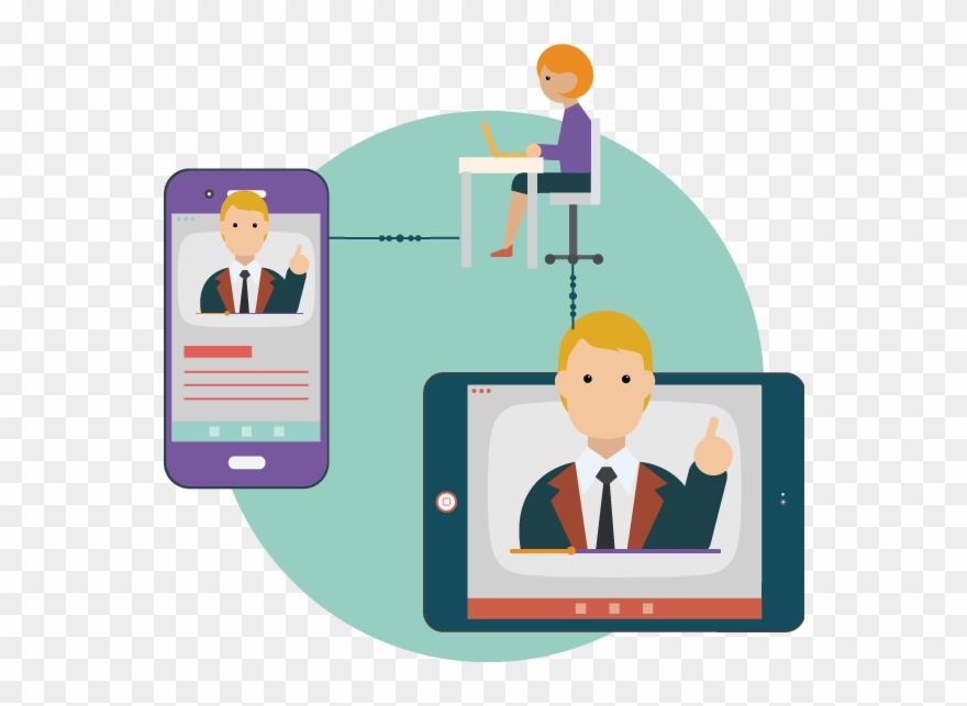 Delivering Lectures Online Using Video Chat.