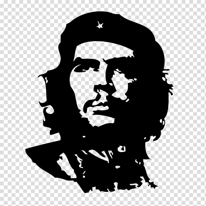 Che Guevara transparent background PNG clipart.