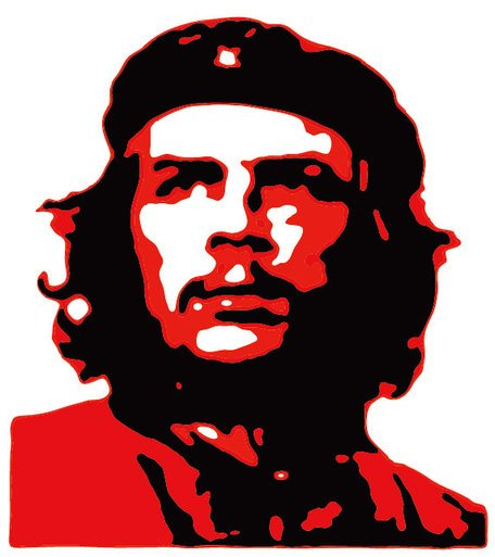 Che Guevara classic Clipart Picture Free Download.