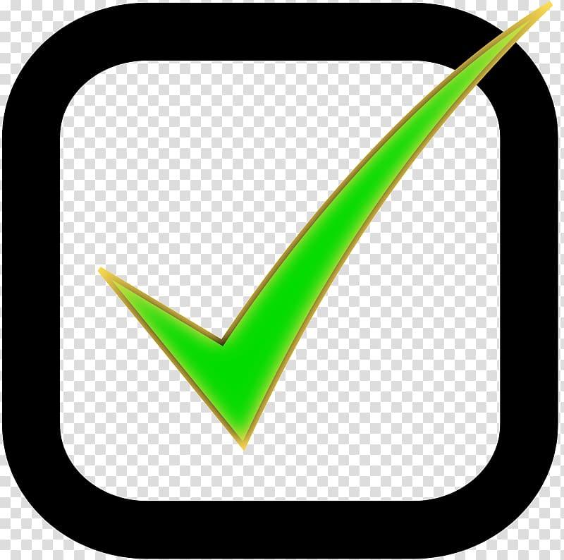 Checkbox Check mark User interface , Green Checkbox.