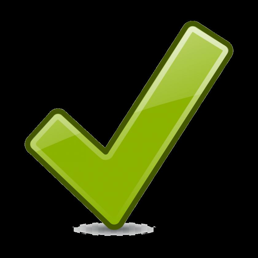 Check Mark Transparent Yellow Checkmark Clip Art Clipart Png.