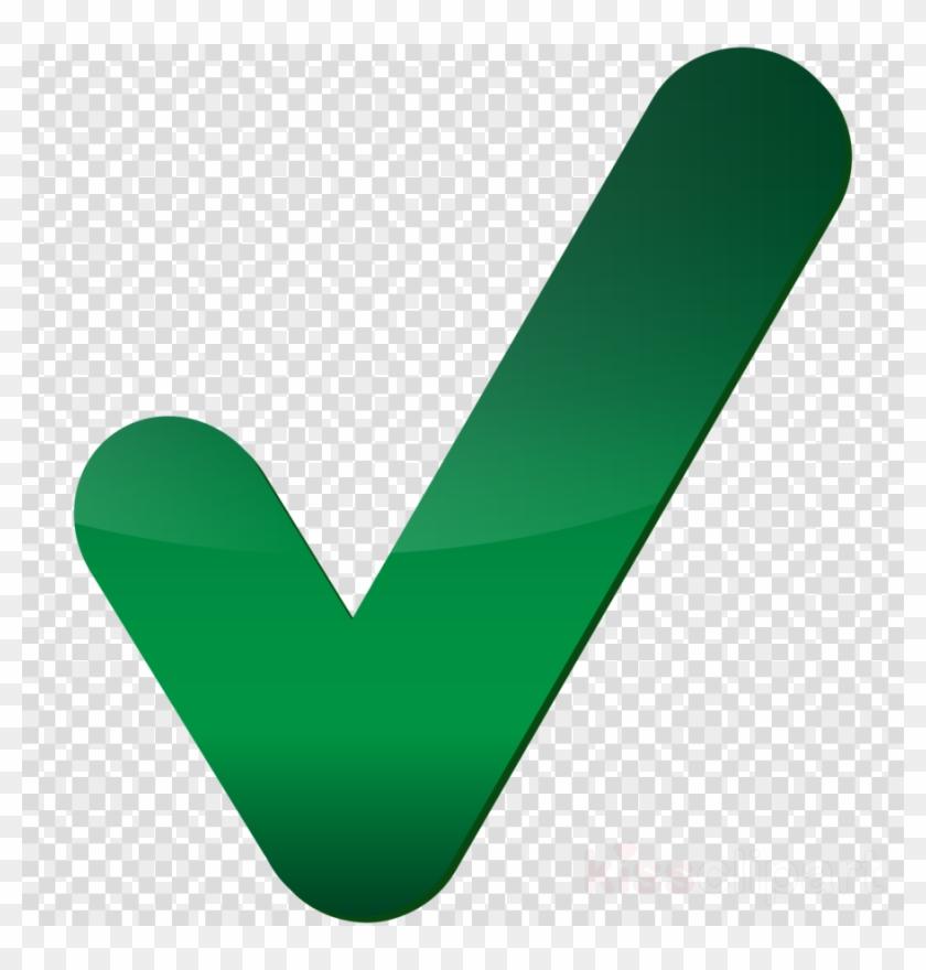 Green Check Mark Transparent Clipart Check Mark Computer.