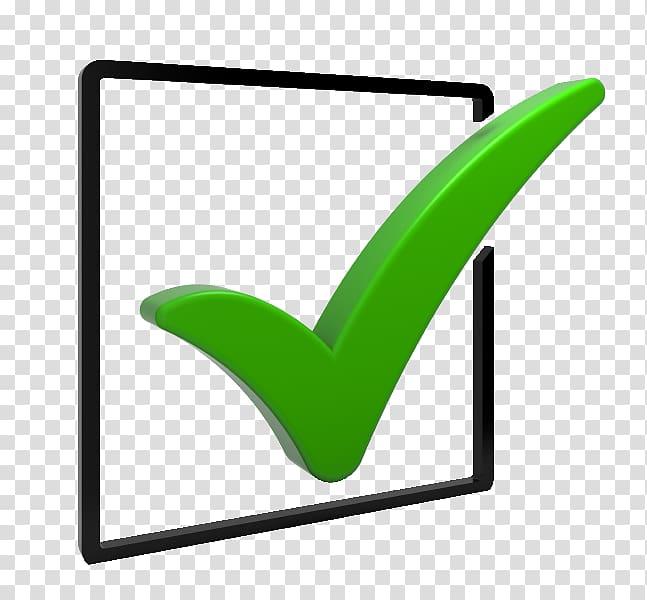 Checkbox Check mark Computer Icons , poll transparent.