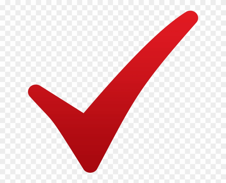 Red Checkmark.