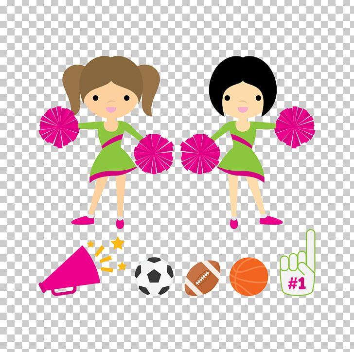Cheerleading Pom.