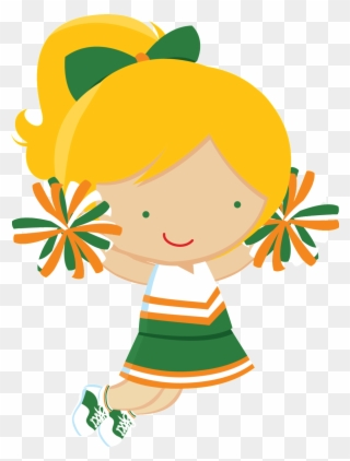 Cheerleader Clipart, Cheerleader Party, Cheerleading,.