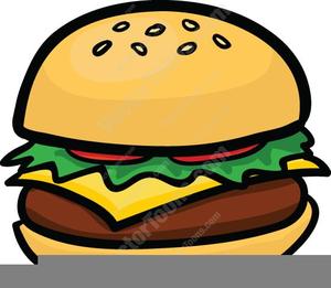 Free Clipart Cheeseburger.