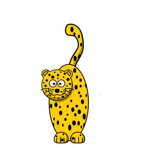 Cheetah clipart, cliparts of Cheetah free download (wmf, eps, emf.
