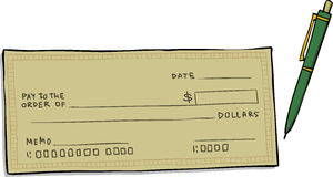 Clipart Cheques.