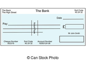 Cheque Clipart and Stock Illustrations. 2,145 Cheque vector EPS.