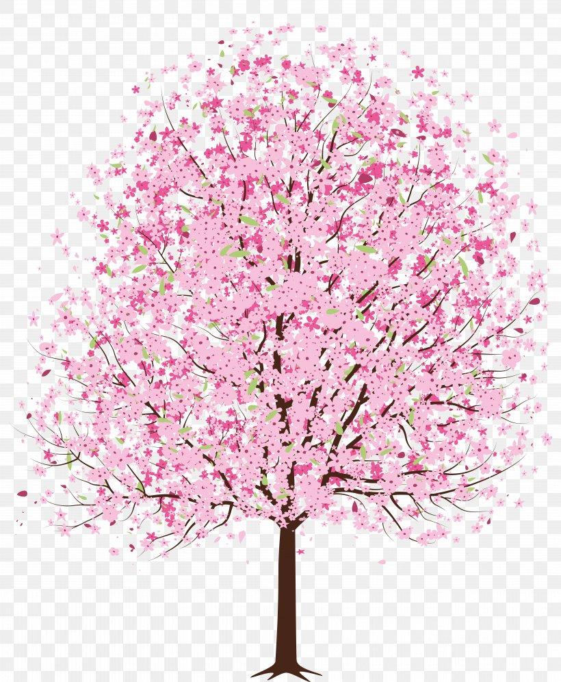 Cherry Blossom Tree Clip Art, PNG, 7741x9408px, Blossom.
