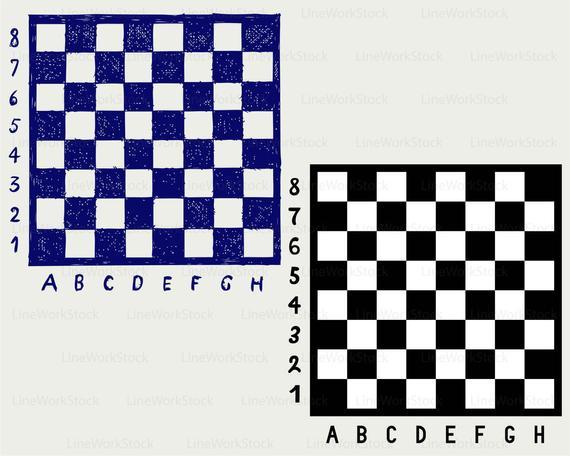 Chess board svg/chess board clipart/chess svg/chess silhouette/chess  cricut/cut files/clip art/digital download designs/svg.