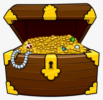 Free Treasure Chests Clip Art with No Background.