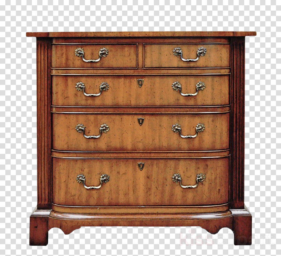 drawer chest of drawers furniture wood stain dresser clipart.