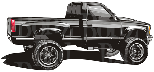 Chevy truck clipart 2 » Clipart Station.