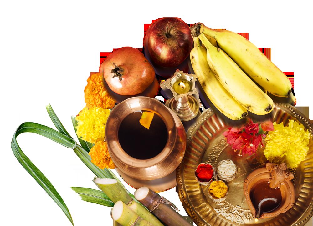 Transparent Clipart Image Chhath Puja Sup fruits thali.