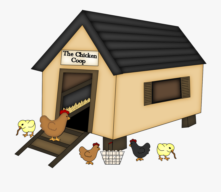 Doghouse Clipart Chicken House.