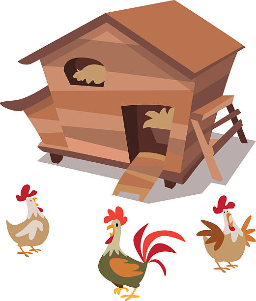 Chicken coop clipart 5 » Clipart Station.