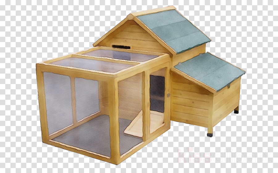 table furniture wood chicken coop birdhouse clipart.