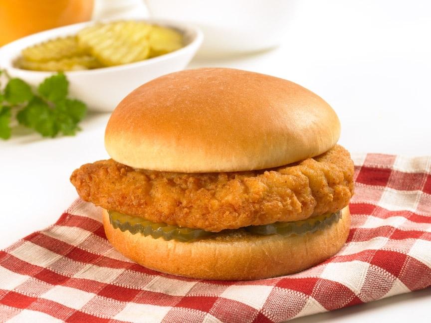 Chicken Sandwich Clipart.