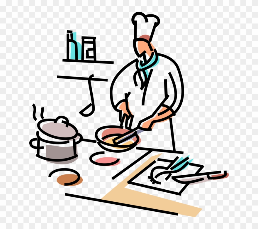 Chief Clipart Line Cook.