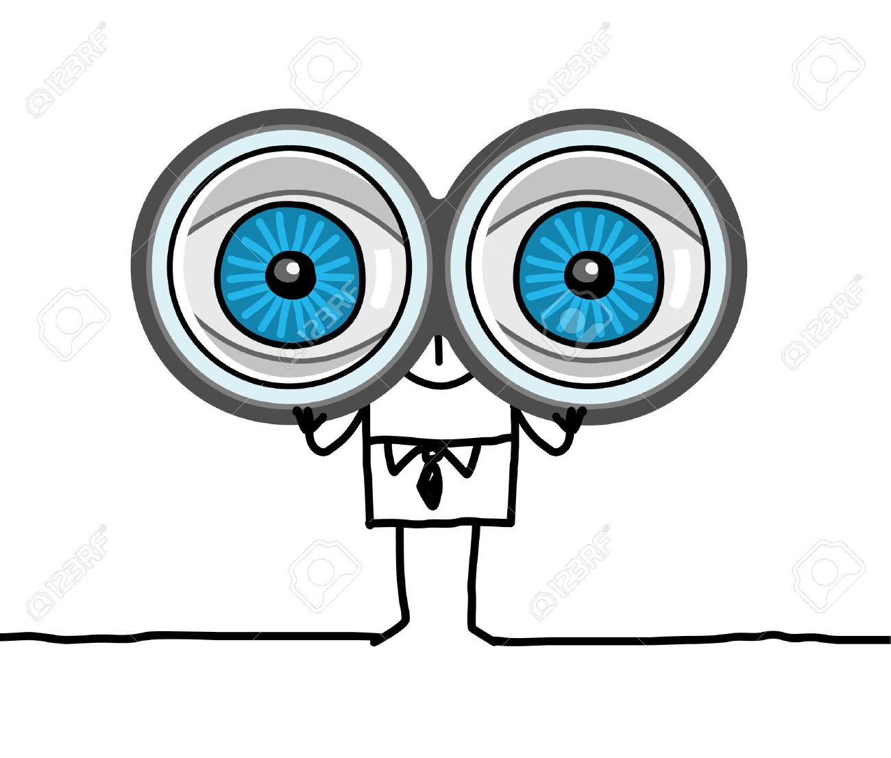 Showing post & media for Cartoon eyes binoculars.