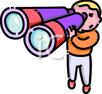 Showing post & media for Binoculars clip art cartoon.