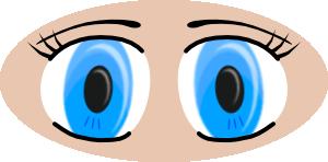 Child Eye Clipart.