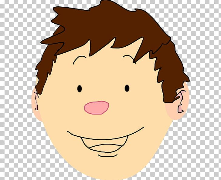 Cartoon Child Face PNG, Clipart, Art, Boy, Boy Smiling.