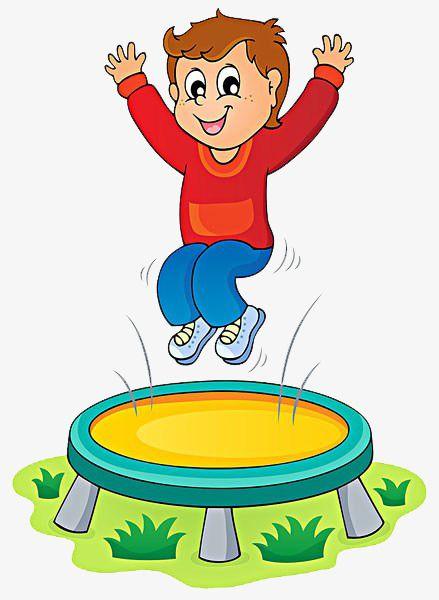 Child Jumping Trampoline, Child, Trampoline, Happy PNG.