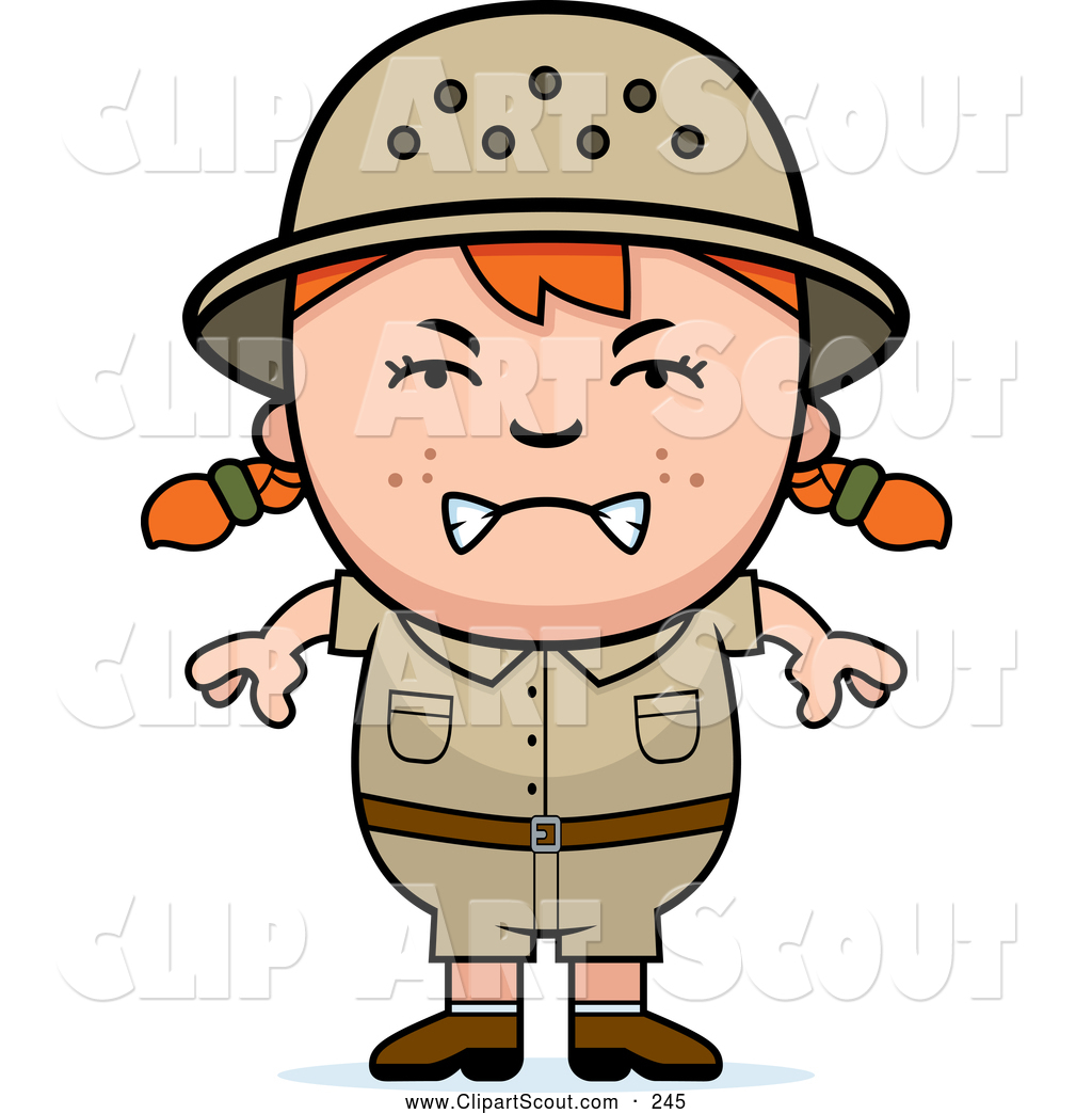 Mad Kid Clipart.