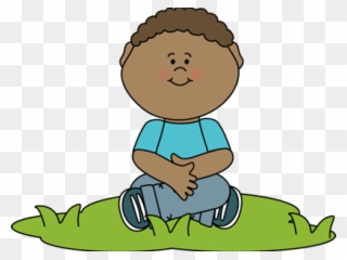 Free PNG Boy Sitting Clipart Clip Art Download.