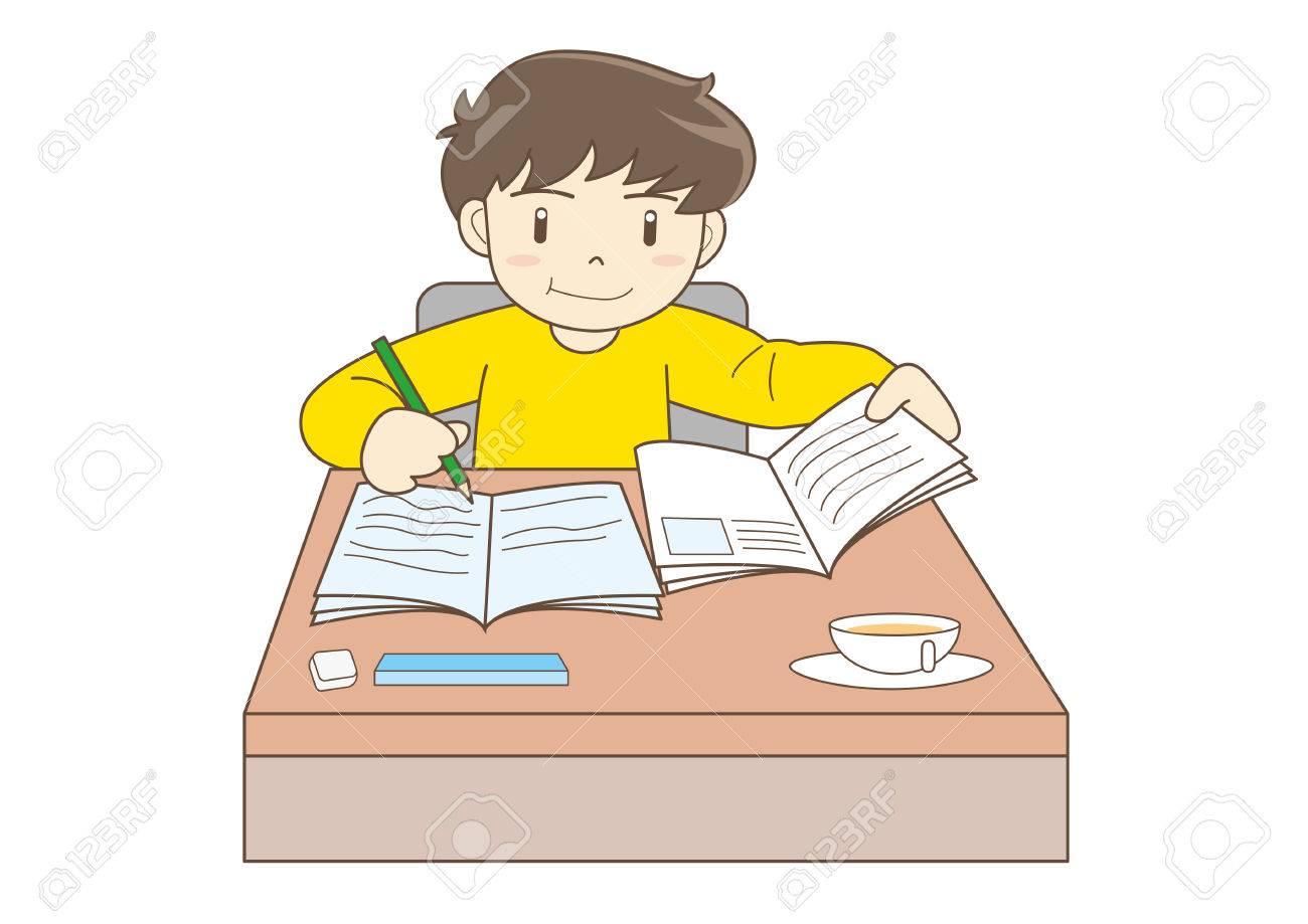 Child Studying image.